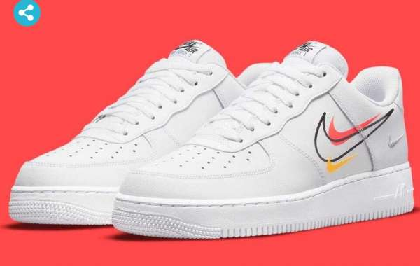 New Air Force 1 Low Dropping With Multi-Swoosh for Sale